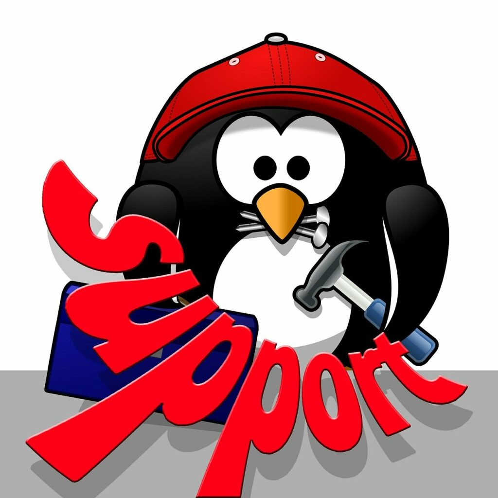 support, penguin, tool